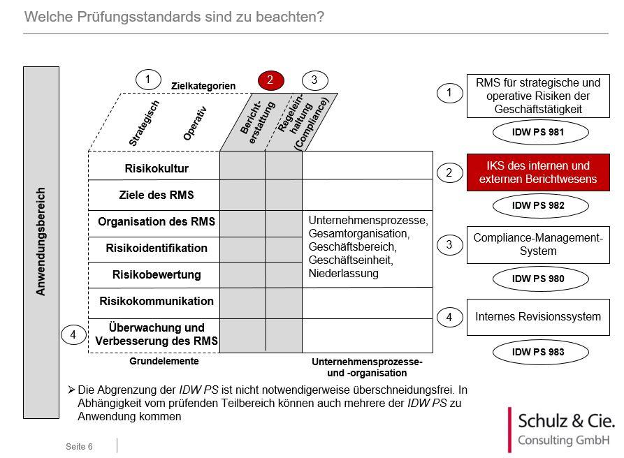 Internes Kontrollsystem bei Auslagerungen - Prüfung in der Praxis