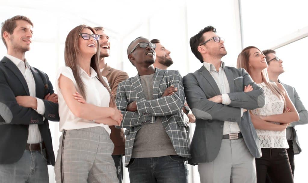 Schulung Präsentation für Führungskräfte
