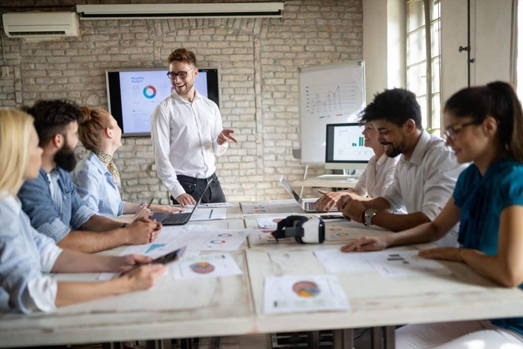 Kurs Präsentation für Führungskräfte