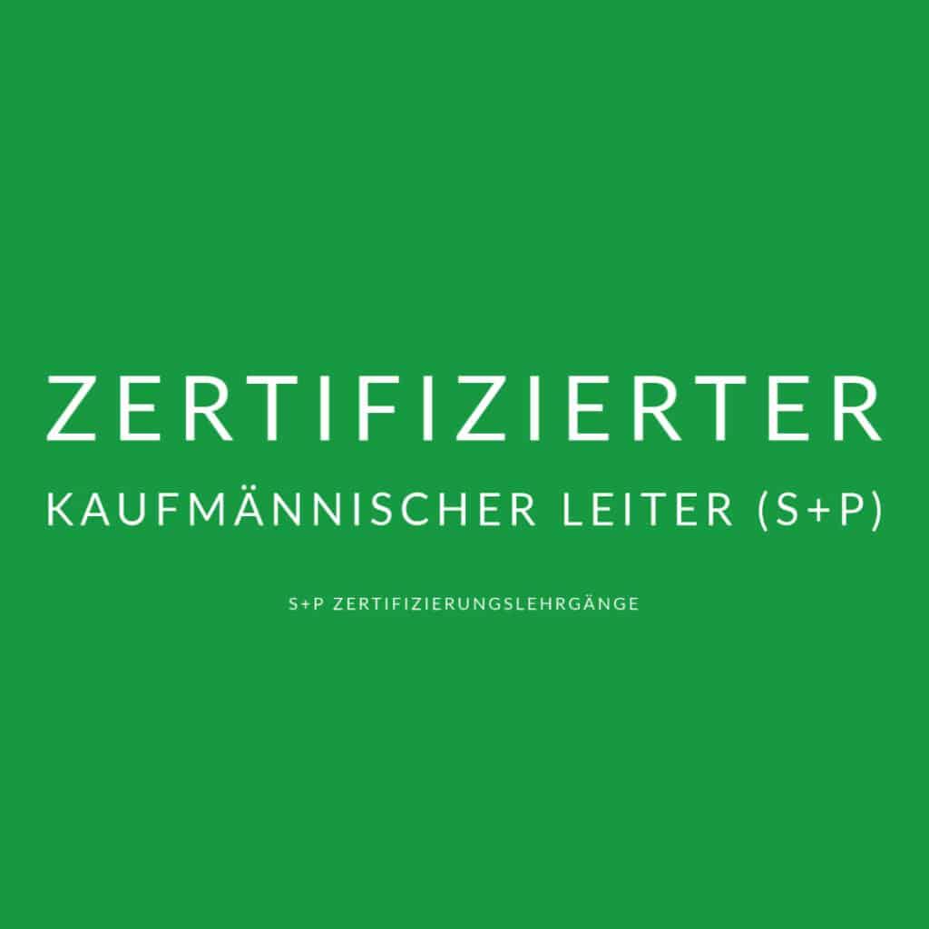 Zertifizierter Chief Financial Officer S+P Lehrgang